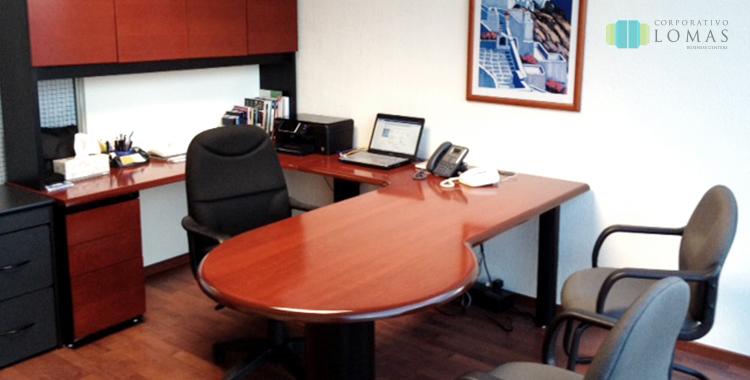 Oficinas amuebladas corporativo lomas for Oficinas equipadas